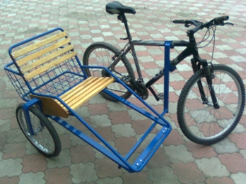 Как сделать люльку на велосипед своими руками A-eroDrom.ru